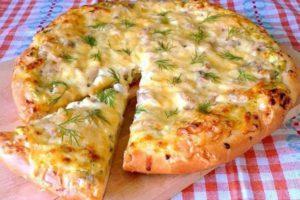 """Да здравствует пицца! 4 новых рецепта Пицца """"Оригинальная"""" с творогом."""