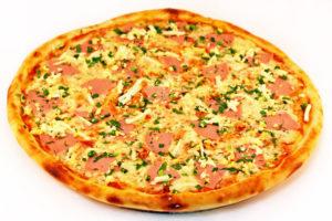 """Пицца """"Быстрая"""" с колбасой"""