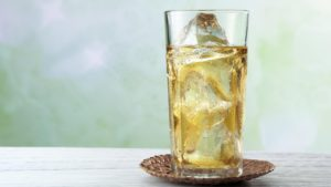 Холодные напитки со льдом