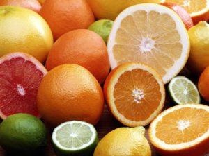 Лимон, апельсин,грейпфрут,лайм