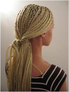 Плетем африканские косички