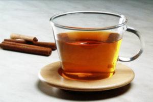 Черный чай без сахара