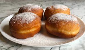 Как приготовить пончики с джемом