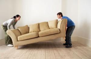 Как переставить тяжёлую мебель без проблем