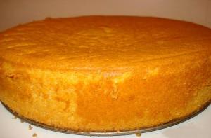 Как испечь бисквит,чтобы он поднялся равномерно
