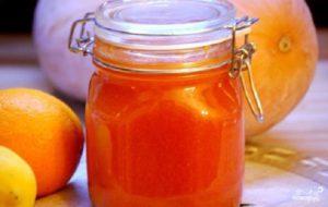 Конфитюр из тыквы с апельсином и лимоном. Как сварить конфитюр из тыквы