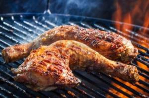 Рецепты для пикника, вкусная курочка