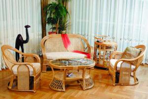 Чистим плетеную мебель. Как почистить мебель,чтобы она служила долго.