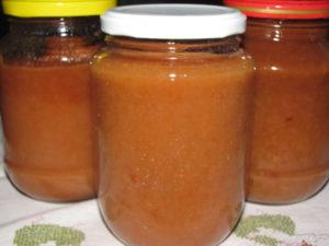 Как приготовить яблочное пюре детям