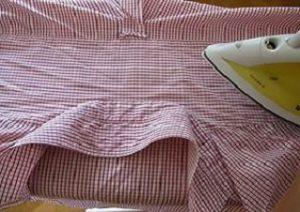 Гладим кокетку.Умеем ли мы гладить рубашку и брюки, а галстук?