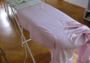 Гладим спинку. Умеем ли мы гладить рубашку и брюки, а галстук?