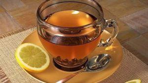 Как определить характер по чаю.Черный чай с лимоном