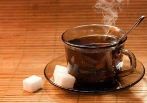 Как определить характер по чаю.Черный чай с сахаром.