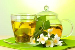 Как определить характер по чаю.Зеленый чай с жасмином.