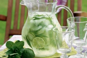 Готовим домашние лимонады