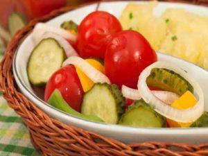 Ассорти из овощей по-быстрому рецепт