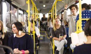 В общественном транспорте, все о хороших манерах