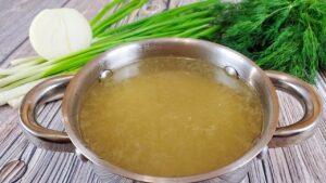 Классический бульон, рецепт приготовления